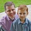 Peter and Jacob Hurley (photo by Fredrick D. Joe/The Oregonian)