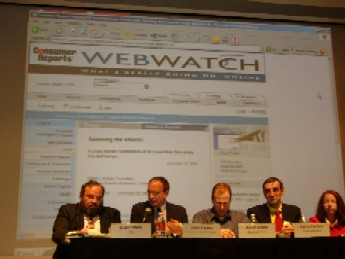 2005 Travel Conference consumer panel