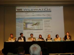 Travel Industry Panel (l to r: Barth, Hafner, Khan, Rosner, Tarka, Weber, Weinsheimer)