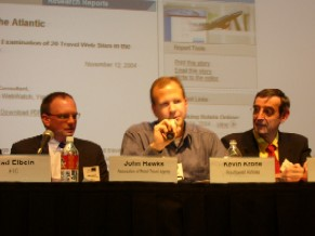 Kevin Krone, Southwest Airlines, at WebWatch's Travel Conference