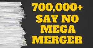 Say No to Mega Merger