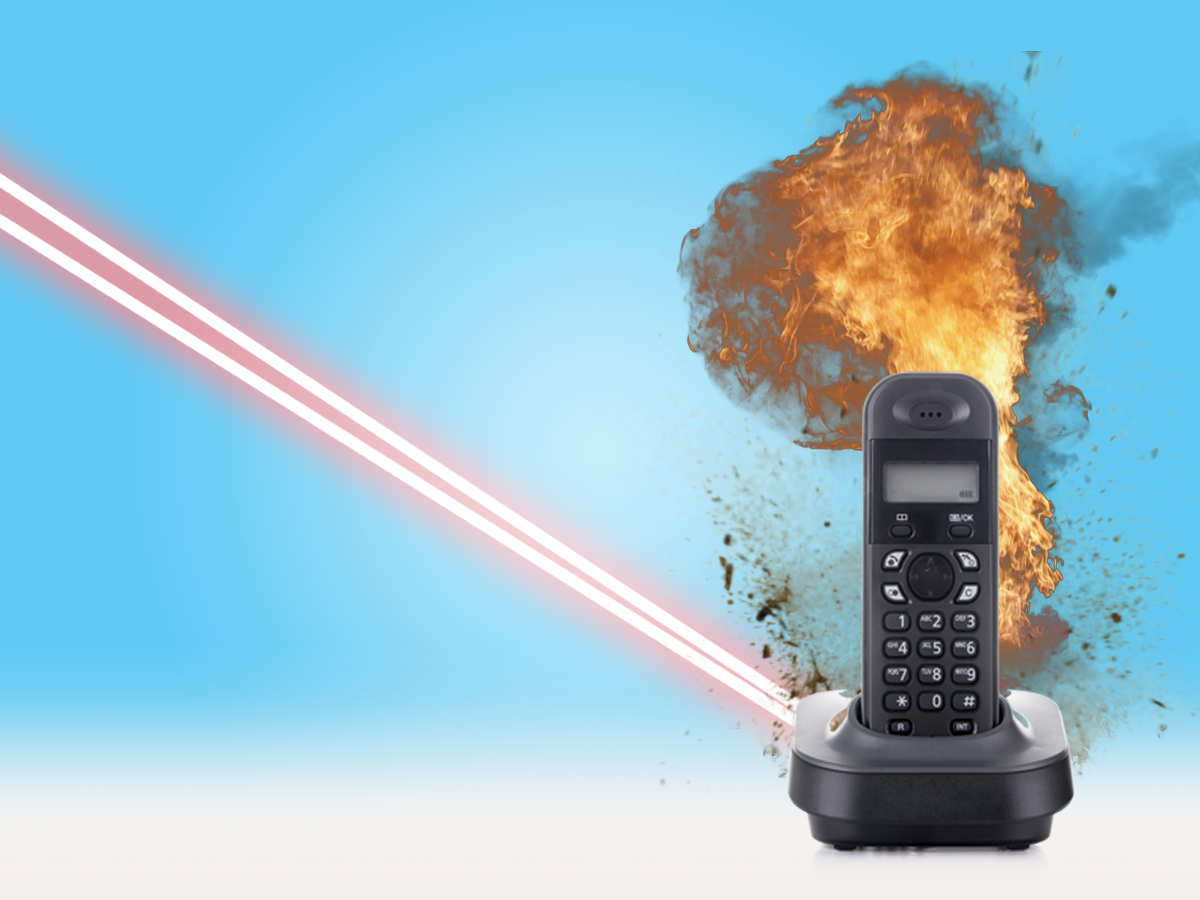 Phone on Fire