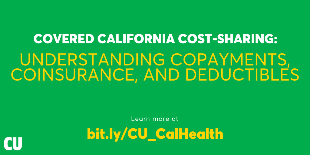 Covered California Cost Sharing Understanding Copayments